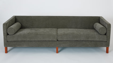 Edward Wormley Tuxedo Sofa for Dunbar