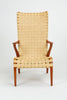 High Back Armchair by Axel Larsson for Bodafors/Svenska Möbelfabrikerna