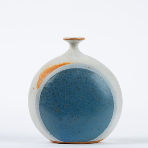 1970s Studio Pottery Bud Vase by Isabel Parks