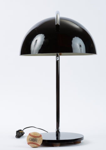 American-Made Table Lamp with Mushroom Shade