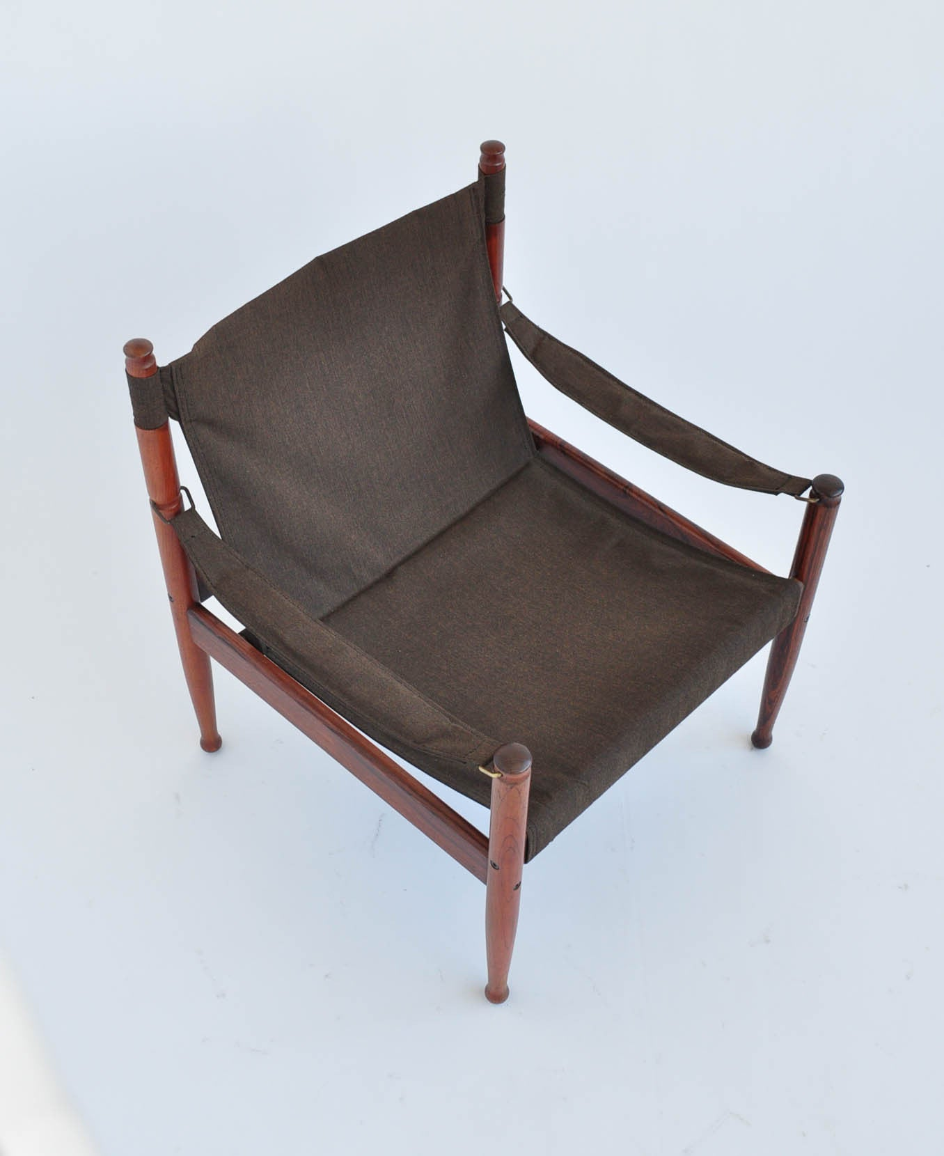 Erik Worts Rosewood Safari Sling Lounge Chairs – Den M¸bler