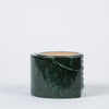 Green Marble Coaster Set