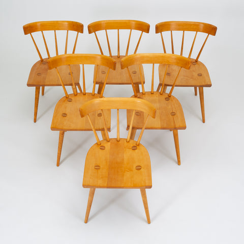 Set of Six Planner Group Chairs by Paul McCobb