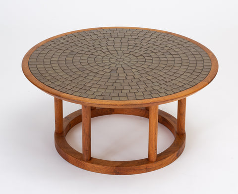 Gordon & Jane Martz Round Coffee or Occasional Table for Marshall Studios