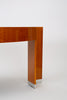 "Custom Lacewood ""Mezzaluna"" Desk by Pace Collection"