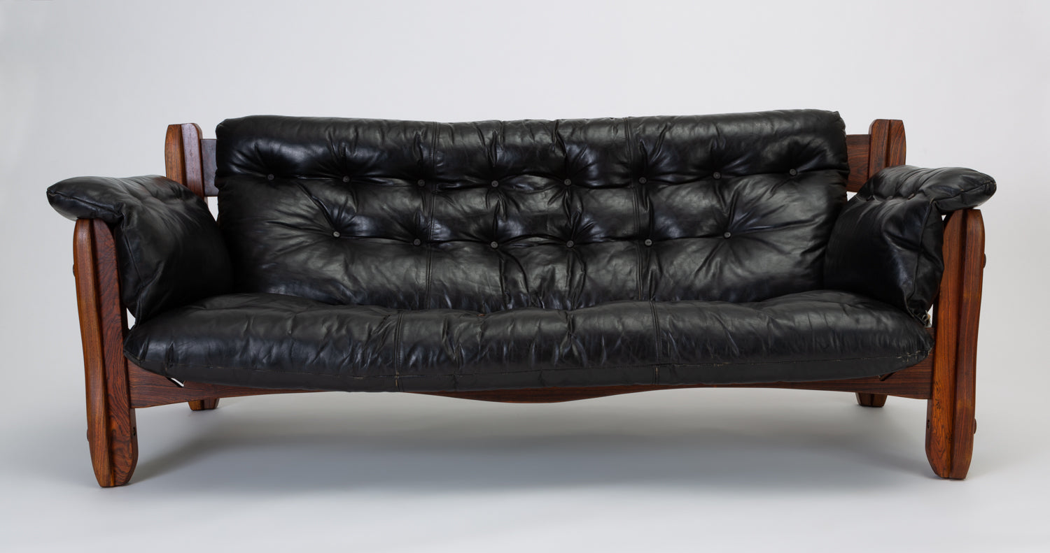 Descanso Sofa by Don Shoemaker for Señal in Cueramo and Leather