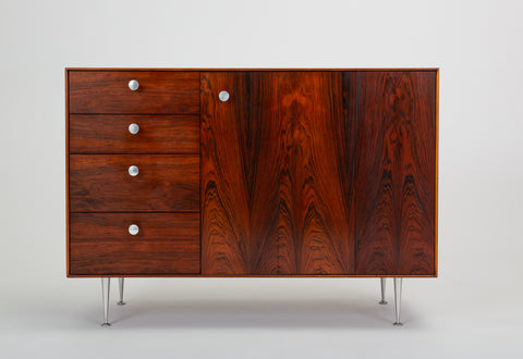 Early Thin Edge Cabinet in Rosewood by George Nelson for Herman Miller