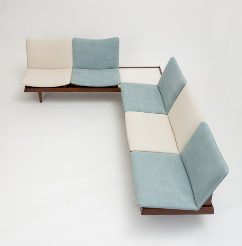 Two-Piece Modular Seating Group by Gerald McCabe