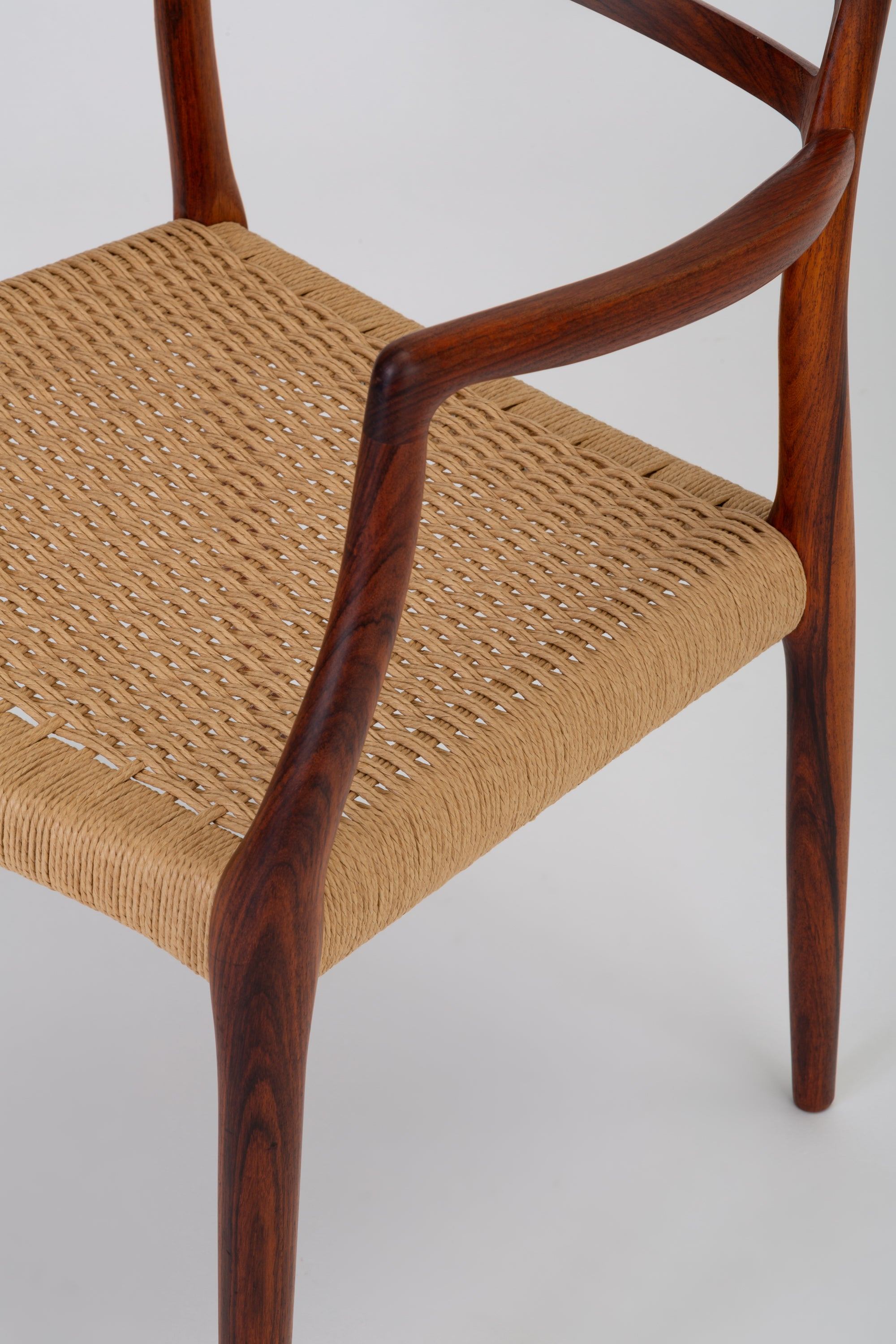 Set of Six Model 78 Rosewood Dining Chairs by N.O. M ller