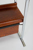 Zebrawood and Chrome Bookshelf by Peter Protzmann for Herman Miller
