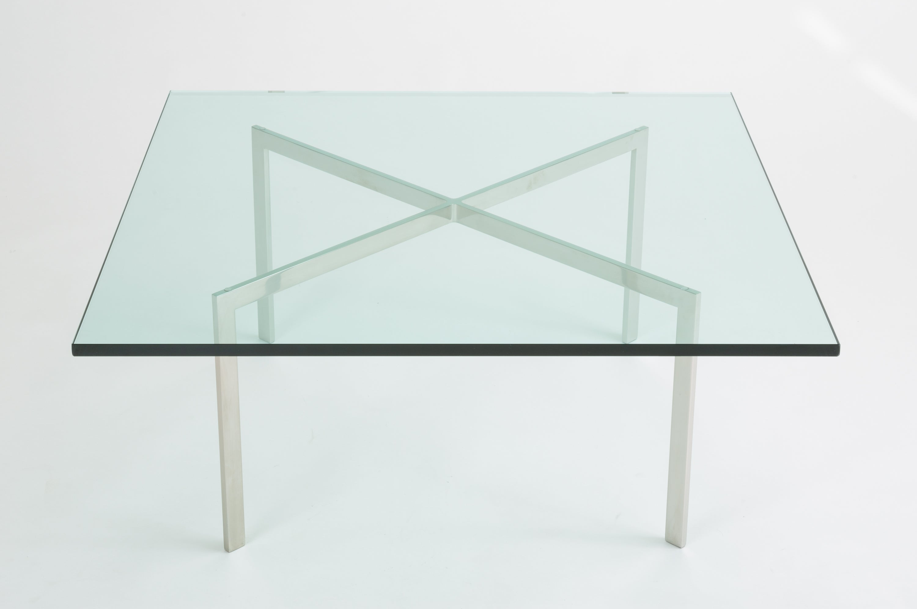 Beau Barcelona Coffee Table By Ludwig Mies Van Der Rohe For Knoll