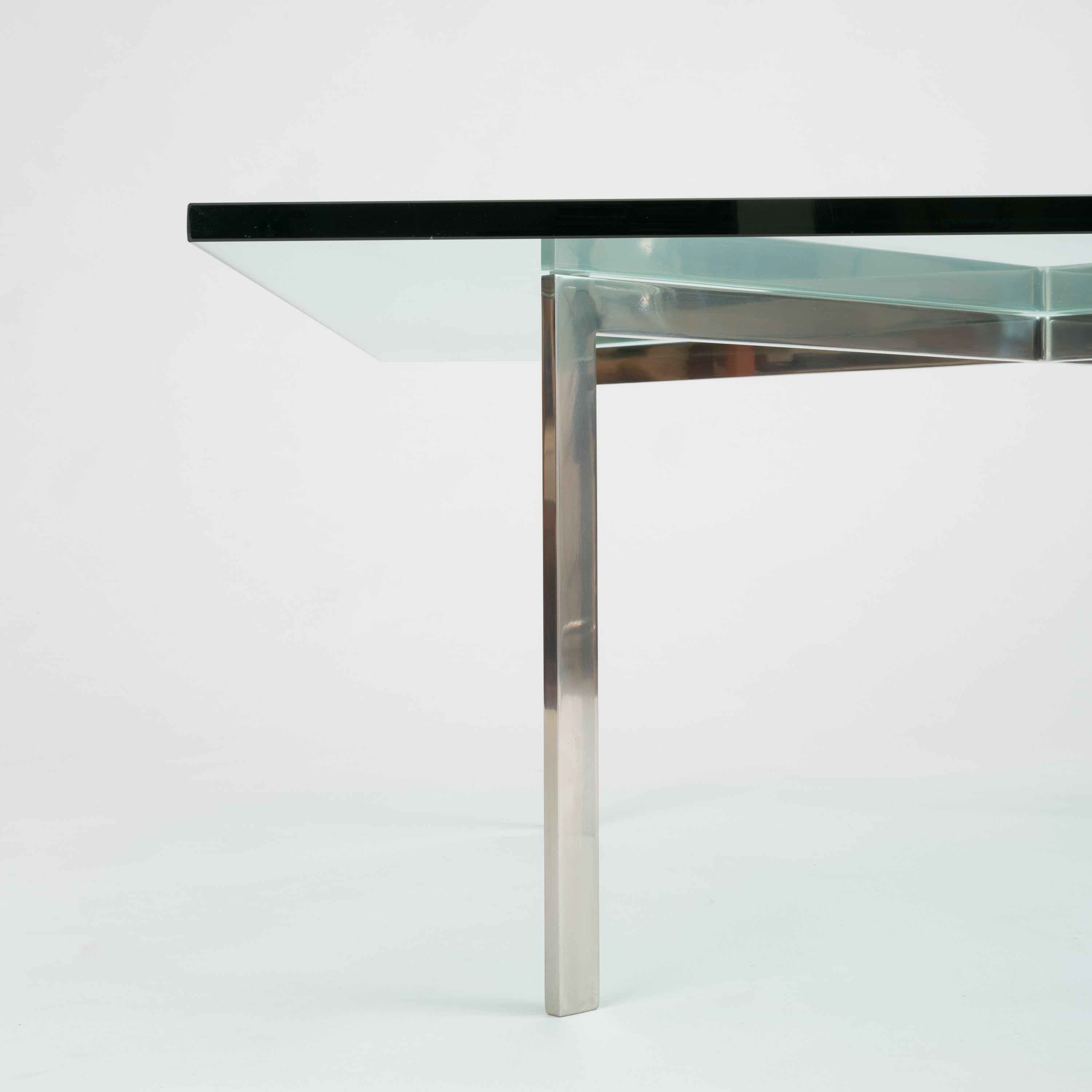 Barcelona Coffee Table By Ludwig Mies Van Der Rohe For Knoll Den