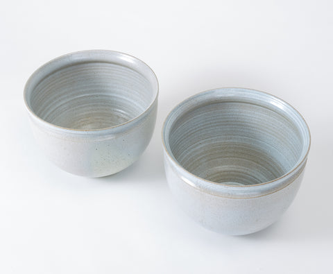 Single Unscored Earthgender Bowl Planter by David Cressey and Robert Maxwell