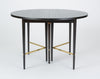 Ebonized Dining Table with Six Leaves by Paul McCobb for Calvin Furniture