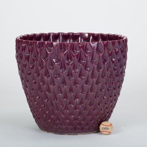Phoenix-1 Planter in Purple Glaze by David Cressey for Architectural Pottery