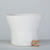 White M-2 Planter by Paul McCobb for Architectural Pottery