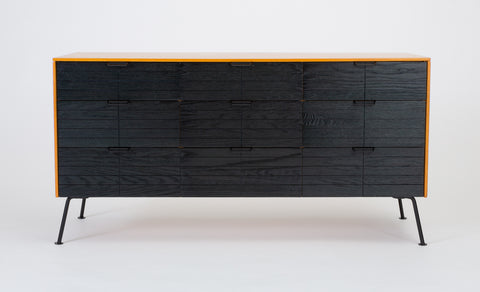 "Nine Drawer Dresser from Raymond Loewy's ""Accent"" Line for The Mengel Company"