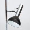 Chrome Floor Lamp with Three Spotlights by Gebrüder Cosack