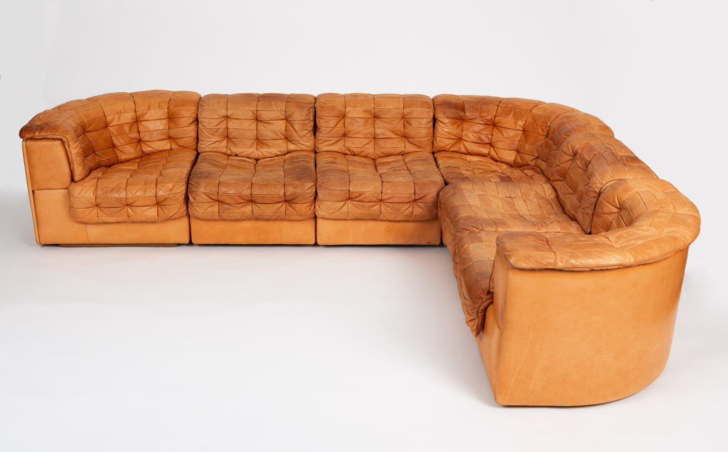 Swiss 1970s DS-11 Sectional by De Sede