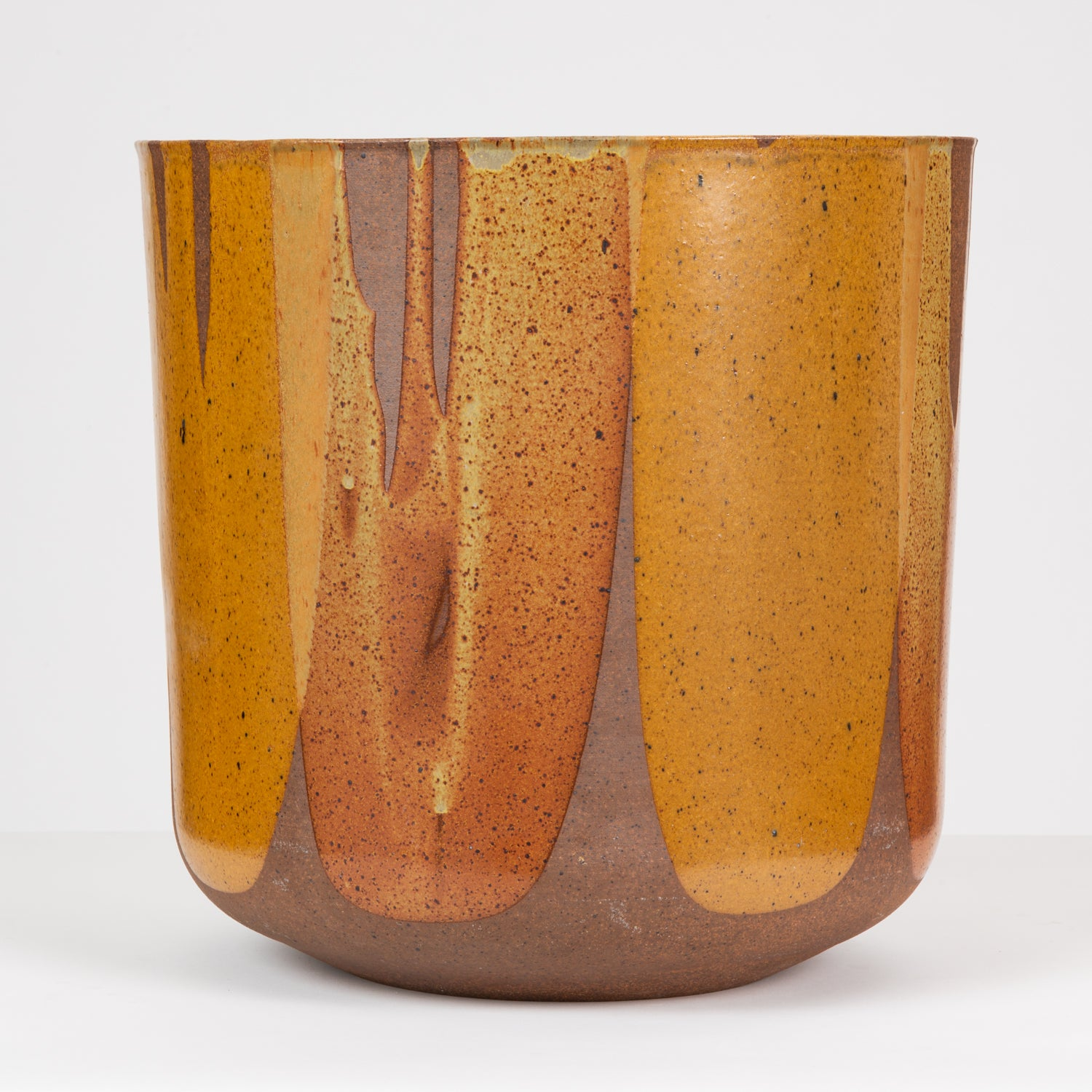 Malcolm Leland LT-24 Flame-Glazed Planter for Architectural Pottery