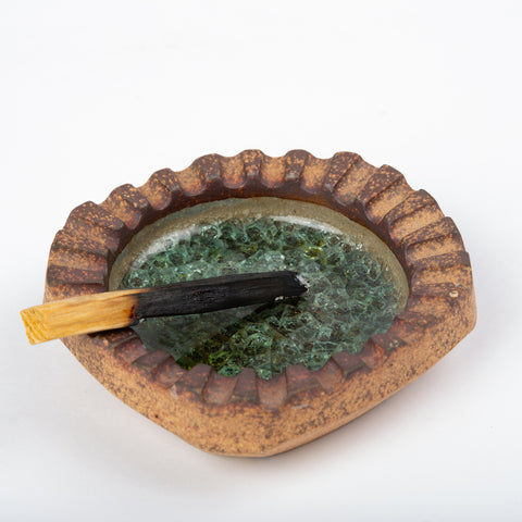 California Studio Pottery Ashtray by Robert Maxwell