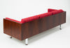 Danish Rosewood Case Sofa by Jydsk Mobelvaerk