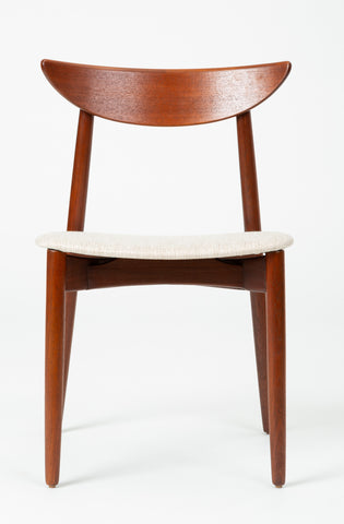 Single Dining or Accent Chair by Harry Østergaard for Randers Møbelfabrik