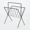 Wire Magazine Rack by Tony Paul