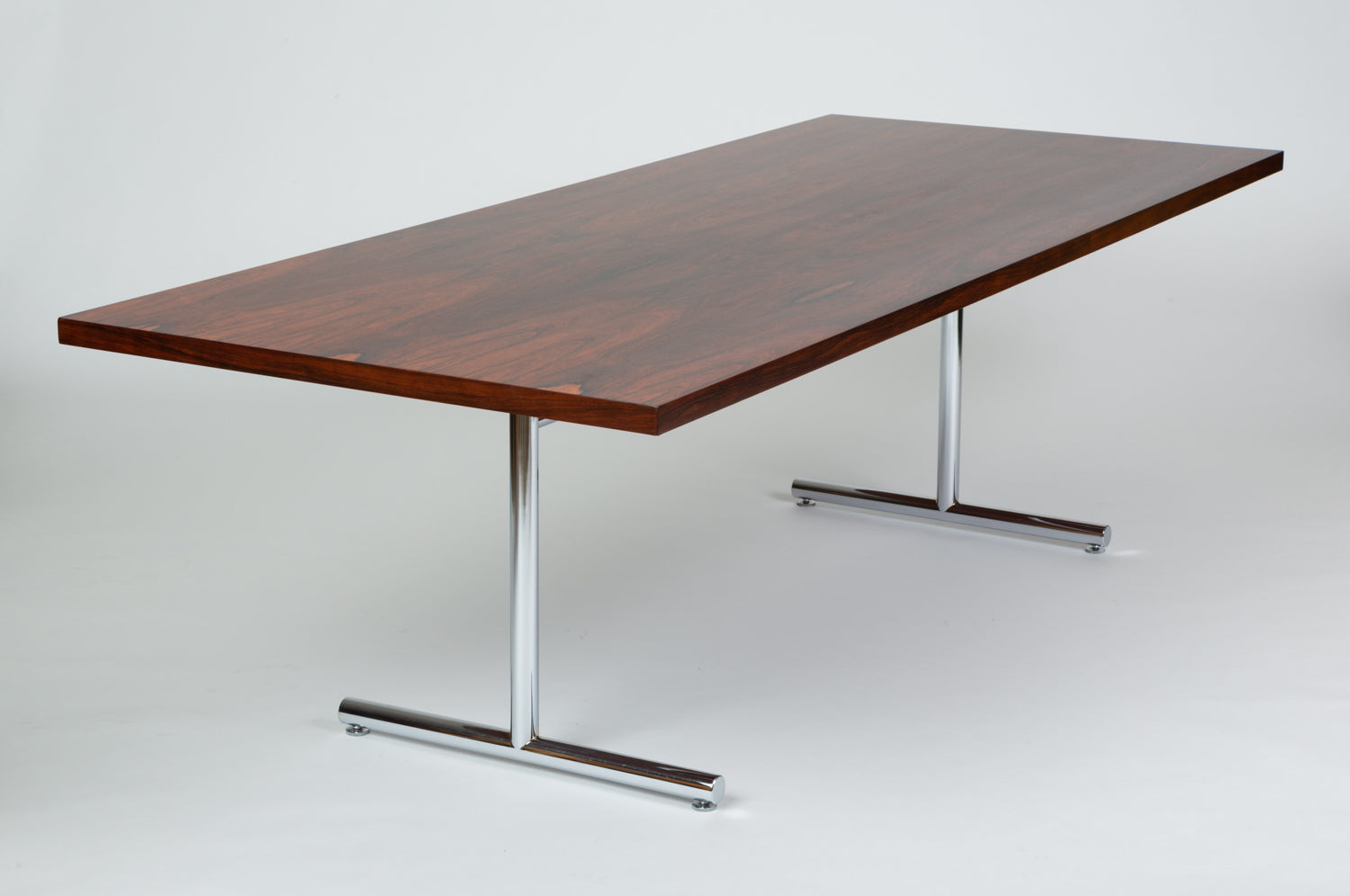 Rosewood Omega Desk-Dining Table by Hans Eichenberger for Hausmann + Hausmann