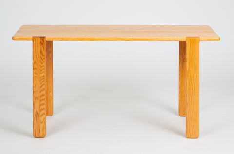 Studio Craft Console Table in American Oak