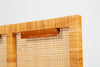 Single Twin Headboard in Woven Cane by Danny Ho Fong for Tropi-Cal
