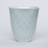 Fluted Porcelain Vase by Freidl Holzer-Kjellberg for Arabia of Finland