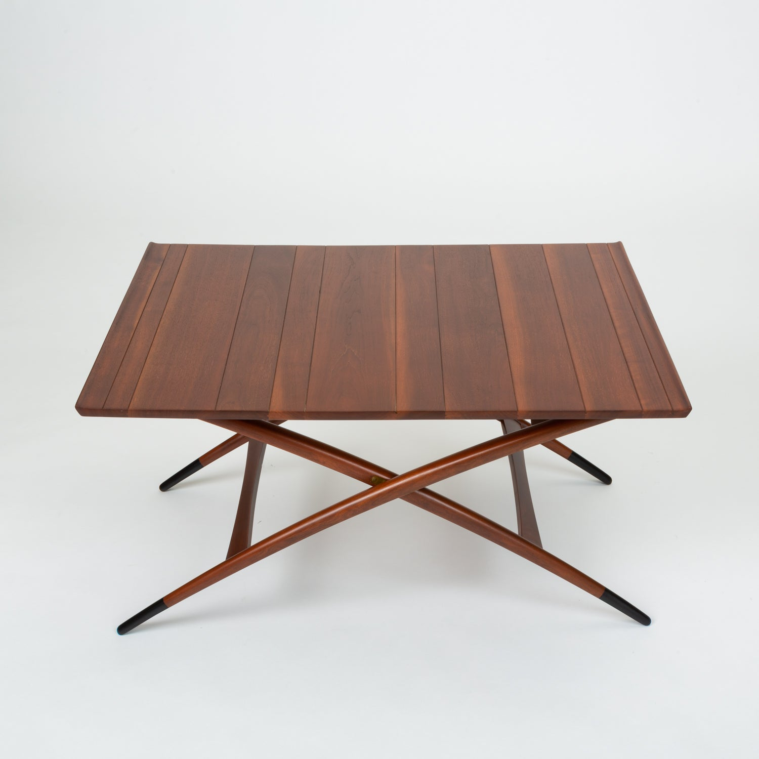 Adjustable Three-Height Coffee or Dining Table by Edward Wormley for Dunbar