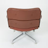 Ray + Charles Eames Time Life Lobby Chair in Chocolate Leather