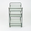 Richard Frinier Bronze Bar Cart for Brown Jordan