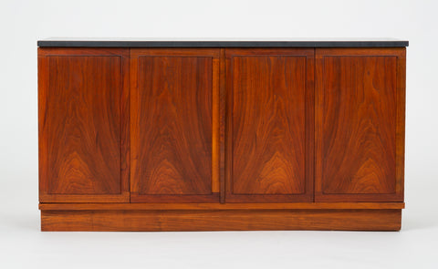 Slate-Top Walnut Sideboard by Jack Cartwright for Founders