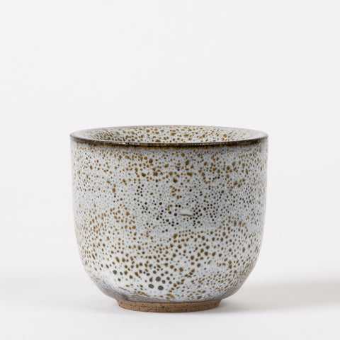 Studio Pottery Cup with Oil Spot Glaze