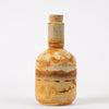 "California Studio Pottery Bottle with Cork Stopper ""JB"""