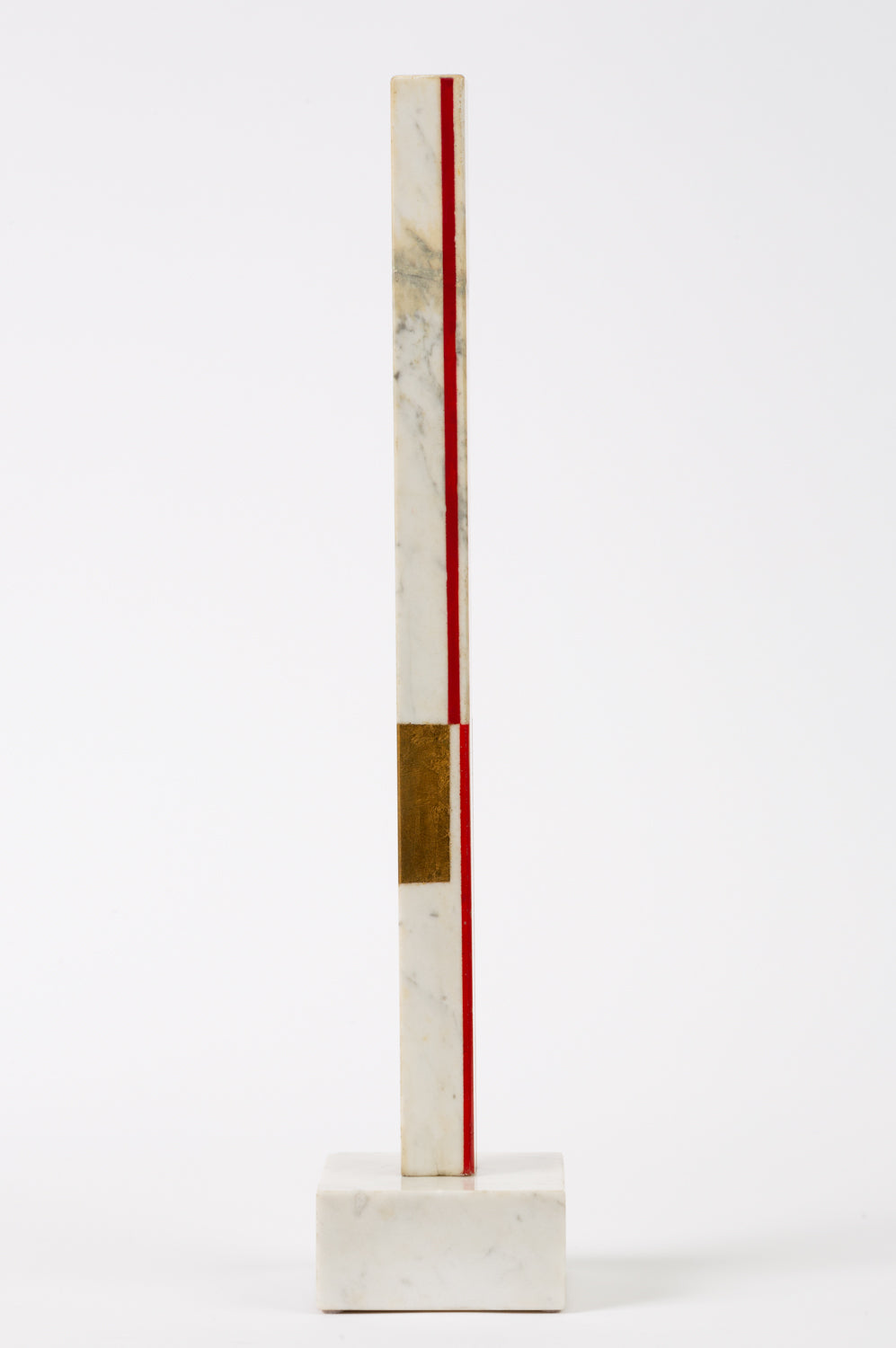 "Marble Sculpture by Ilya Bolotowsky, ""Column #22"""