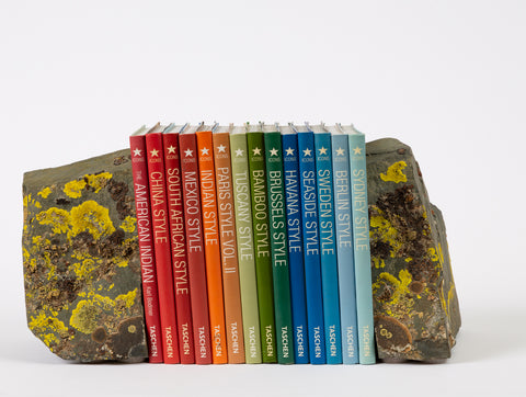 Sierra Nevada Shale + Lichen Bookends