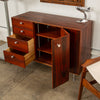 George Nelson Rosewood Thin Edge Cabinet for Herman Miller