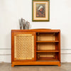 Double Sided Rattan Credenza by Michael van Beuren for Domus Mexico