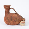 "Rare ""Scavo"" Ceramic Bird Pitcher by Aldo Londi for Bitossi"