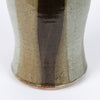 Studio Ceramic Vase with Vertical Drip Glaze