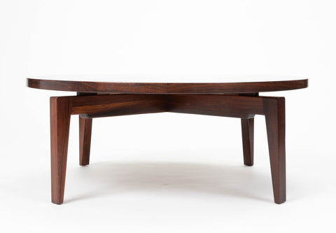 Jens Risom Rare Rosewood Coffee Table