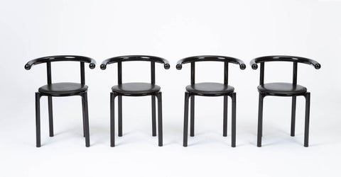 Kartell Dining Chairs by Anna Castelli Ferrieri
