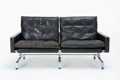 Single PK 31/2 Loveseat by Poul Kjærholm for E. Kold Christensen