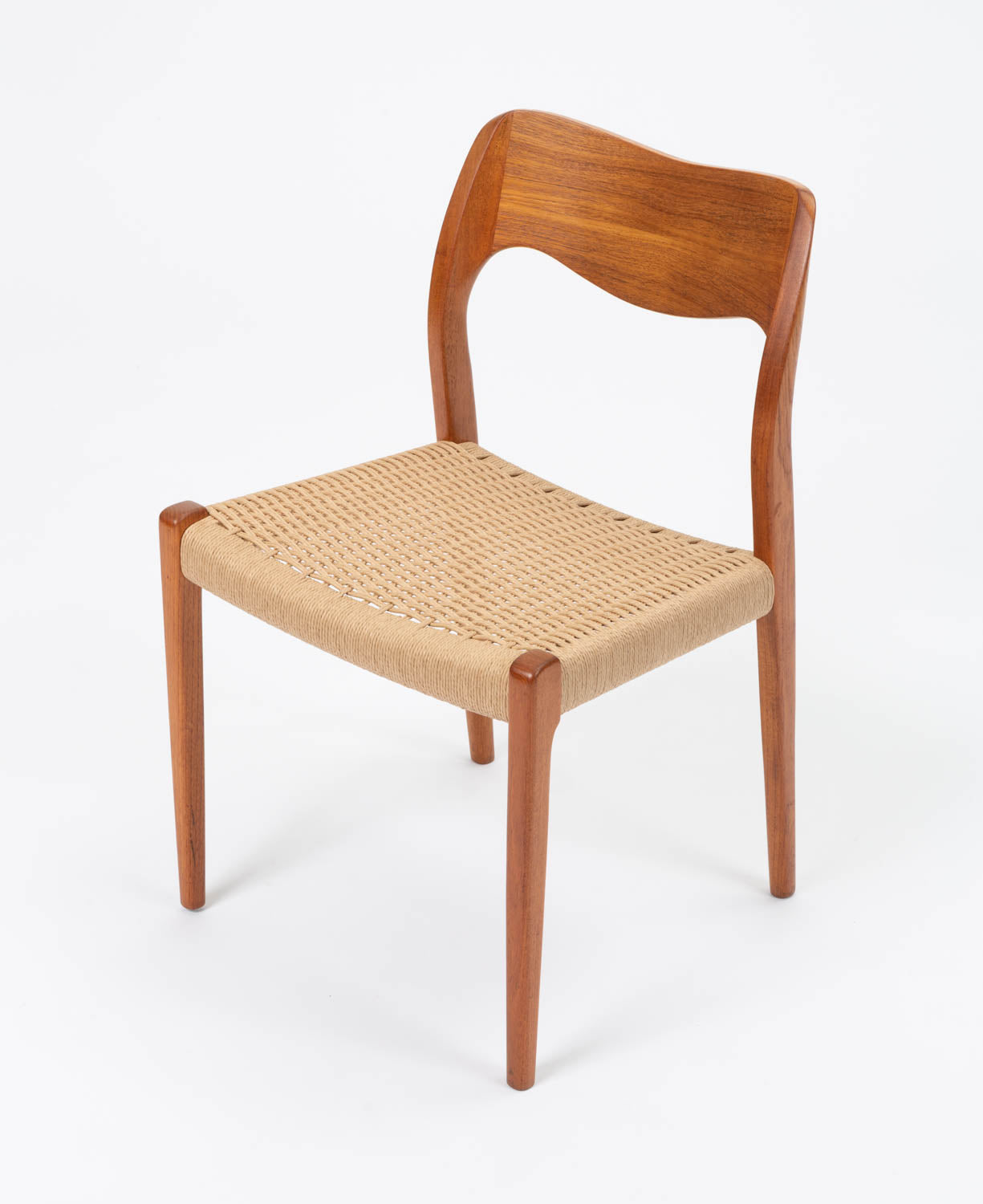 Single Niels Møller No. 71 Teak Dining Chair