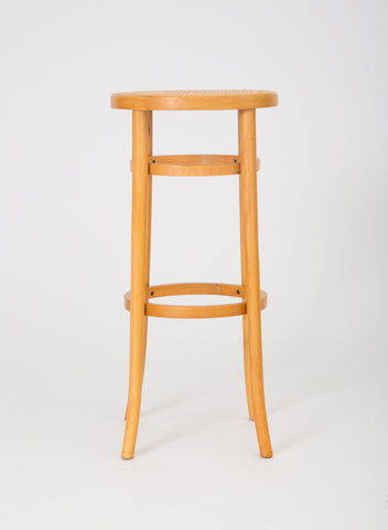 Set of Four Thonet Bentwood Bar Stools