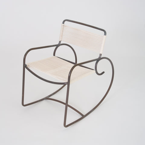 Walter Lamb Rocking Chair for Brown Jordan